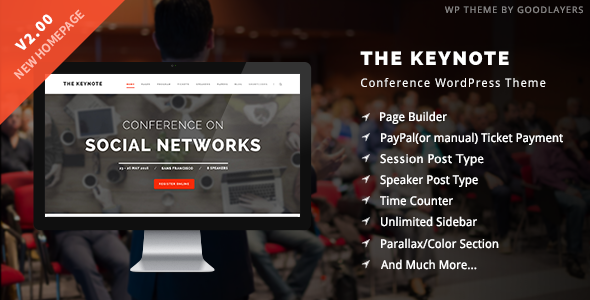 1616587585 456 01 intro.  large preview - The Keynote - Conference / Event WordPress