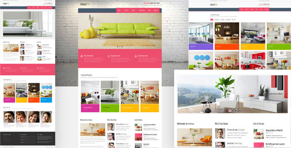 1item preview.  large preview - Innova - Furniture WordPress CMS Theme
