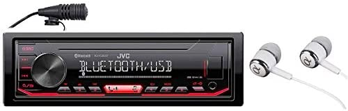 31YgMZq1WeL. AC  - JVC KD-X260BT Built-in Bluetooth, AM/FM, USB, MP3, Pandora, Spotify, iHeartRadio Digital media receiver, Works with Apple and Android Phones, iPod/iPhone Music Playback
