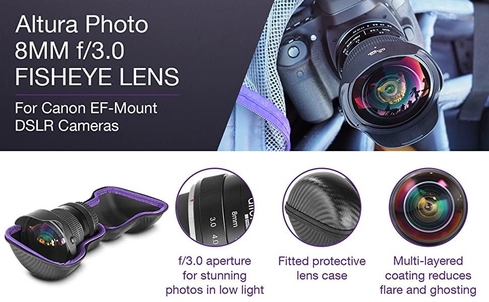 379eaa8a b408 457e 9541 f2cf6dc232a5. CR0,0,1200,742 PT0 SX970   - Altura Photo 8mm f/3.0 Professional Ultra Wide Angle Aspherical Fisheye Lens for Canon EOS 90D 80D 77D Rebel T8i T7 T7i T6i T6s T6 SL2 SL3 DSLR Cameras