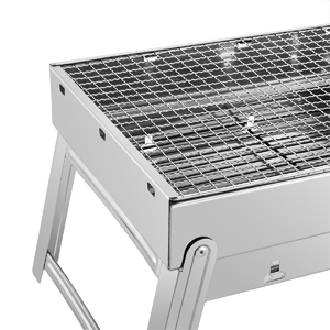 3e4493a5 30a8 4f2f 980f 4bbfd52bc3e0.  CR0,0,300,300 PT0 SX300 V1    - Sunkorto 15.4x10.6x8 Inch Folded Charcoal BBQ Grill Set, Stainless Steel Portable Folding Charcoal Barbecue Grill, Barbecue Tool Kits for Outdoor Picnic Patio Backyard Camping Cooking