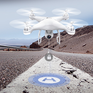 411e2e53 4cbc 483e 87f8 b2694de96b7a. CR0,0,300,300 PT0 SX300   - Potensic T25 GPS Drone, FPV RC Drone with Camera 1080P HD WiFi Live Video, Dual GPS Return Home, Quadcopter with Adjustable Wide-Angle Camera- Follow Me, Altitude Hold, Long Control Range, White