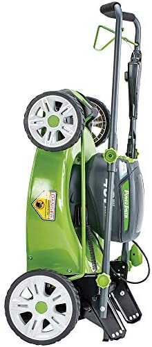 411uvoCWOFL. AC  - POWERSMITH PLM14021H 21 in. 40V Brushless Cordless Lithium Ion Battery Powered Lawn Mower with (2) 40V Batteries and Charger, Bagger, Mulch and Side Discharge Attachements Included