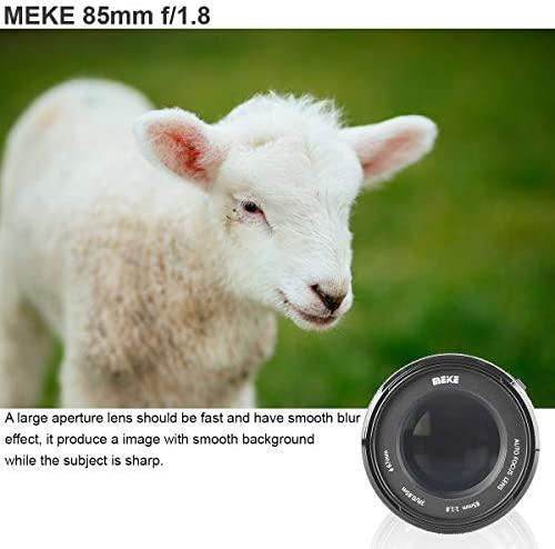 418vBRDJ53L. AC  - MEKE 85mm F1.8 Auto Focus Full Frame Large Aperture Lens for Nikon F Mount DSLR Cameras D850 D750 D780 D610 D3200 D3300 D3400 D3500 D5500 D5600 D5300 D5100 D7200 and Other F Mount Cameras