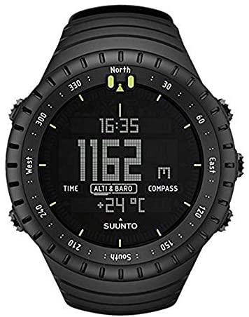 41Ezua46UzL. AC  - SUUNTO Core All Black Military Men's Outdoor Sports Watch - SS014279010