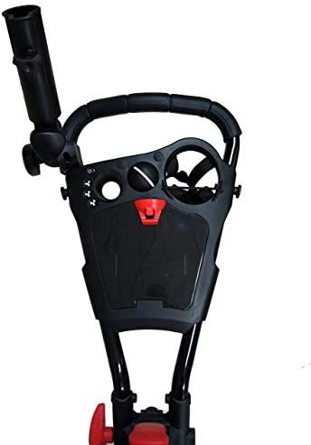 41QisqLG1hL. AC  - Qwik-Fold 3 Wheel Push Pull Golf CART - Foot Brake - ONE Second to Open & Close!