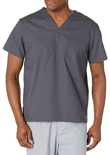 41Uf2IIgRUL. AC  - Dickies Men's Signature V-Neck Scrubs Shirt