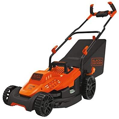 41VX6EOGquL. AC  - BLACK+DECKER Electric Lawn Mower, 10 -Amp, 15-Inch (BEMW472BH)
