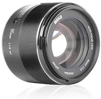 41eZ h0NstL. AC  - MEKE 85mm F1.8 Auto Focus Full Frame Large Aperture Lens for Nikon F Mount DSLR Cameras D850 D750 D780 D610 D3200 D3300 D3400 D3500 D5500 D5600 D5300 D5100 D7200 and Other F Mount Cameras