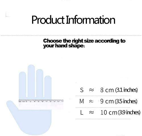 41i+nvAiuaL - WowTowel 100pcs Disposable Nitrile Gloves Exam Gloves Latex-free, Powder-free Glove for Cleanin, 1count, Large