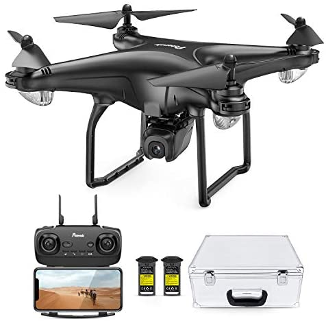 41rRGeXpdfL. AC  - Potensic D58, FPV Drone with 2K Camera, 5G WiFi HD Live Video, GPS Auto Return, RC Quadcopter for Adult, Portable Case, 2 Battery, Follow Me, Easy Selfie Expert Beginner
