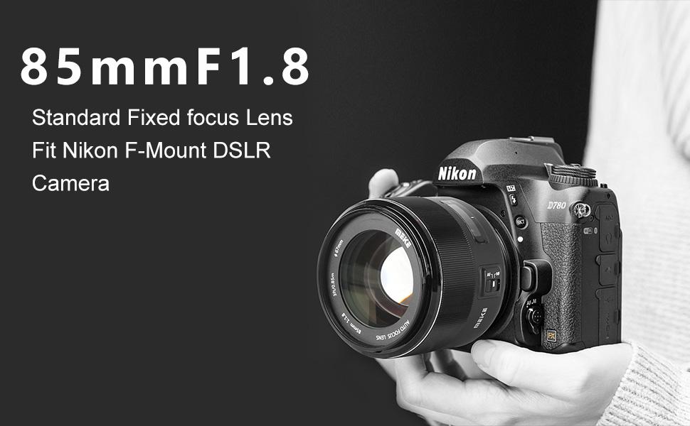487b475f 664a 428f b715 203de67ba248.  CR0,0,970,600 PT0 SX970 V1    - MEKE 85mm F1.8 Auto Focus Full Frame Large Aperture Lens for Nikon F Mount DSLR Cameras D850 D750 D780 D610 D3200 D3300 D3400 D3500 D5500 D5600 D5300 D5100 D7200 and Other F Mount Cameras
