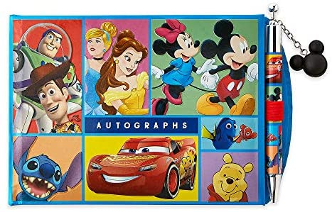 517ZyswX7uL. AC  - Disney World of Disney Autograph Book and Photo Album with Pen