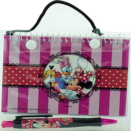 518eaelkSmL. AC  - Disney Minnie Mouse Red Autograph Book with 1 Retractable Pen