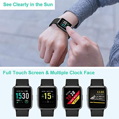51JrjzVC5XL. AC  - Willful Smart Watch for Android Phones Compatible iPhone Samsung IP68 Swimming Waterproof Smartwatch Sports Watch Fitness Tracker Heart Rate Monitor Digital Watch Smart Watches for Men Women Black