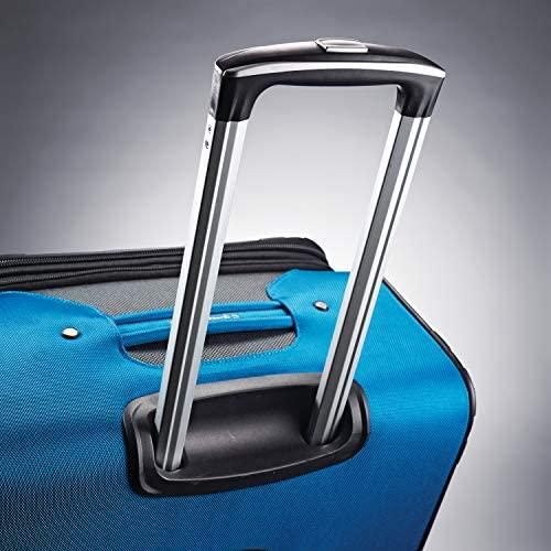 51WDqSIiNqL. AC  - Samsonite Aspire Xlite Softside Expandable Luggage with Spinner Wheels, Blue Dream, 2-Piece Set (20/25)