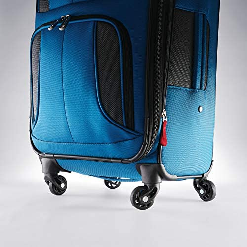 51i3oCvKWfL. AC  - Samsonite Aspire Xlite Softside Expandable Luggage with Spinner Wheels, Blue Dream, 2-Piece Set (20/25)