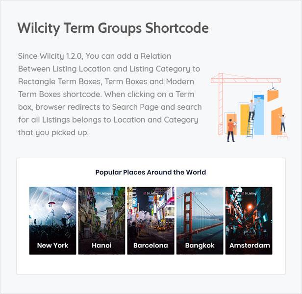 52 - Wilcity - Directory Listing WordPress Theme