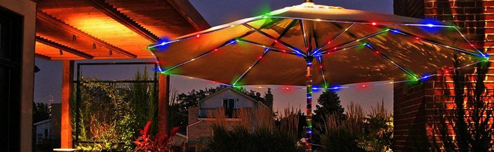 6667e156 c8c7 4bef b4b1 3c952d8ecb6d. CR0,0,970,300 PT0 SX970   - LE LED Rope Light with Timer, Multi Colored, 8 Mode, Low Voltage, Waterproof, 33ft 100 LED Indoor Outdoor Plug in Light Rope and String for Deck, Patio, Bedroom, Pool, Boat,Landscape Lighting and More