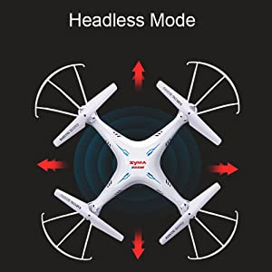 678f54d4 633c 4799 81bd 6ea2aeb76349. CR0,0,1000,1000 PT0 SX300   - Cheerwing Syma X5SW-V3 WiFi FPV Drone 2.4Ghz 4CH 6-Axis Gyro RC Quadcopter Drone with Camera, White
