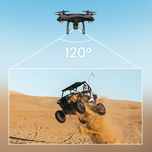 6abf600c 1605 4a00 a271 f3f7dadd07d6.  CR0,0,300,300 PT0 SX300 V1    - Potensic D58, FPV Drone with 2K Camera, 5G WiFi HD Live Video, GPS Auto Return, RC Quadcopter for Adult, Portable Case, 2 Battery, Follow Me, Easy Selfie Expert Beginner