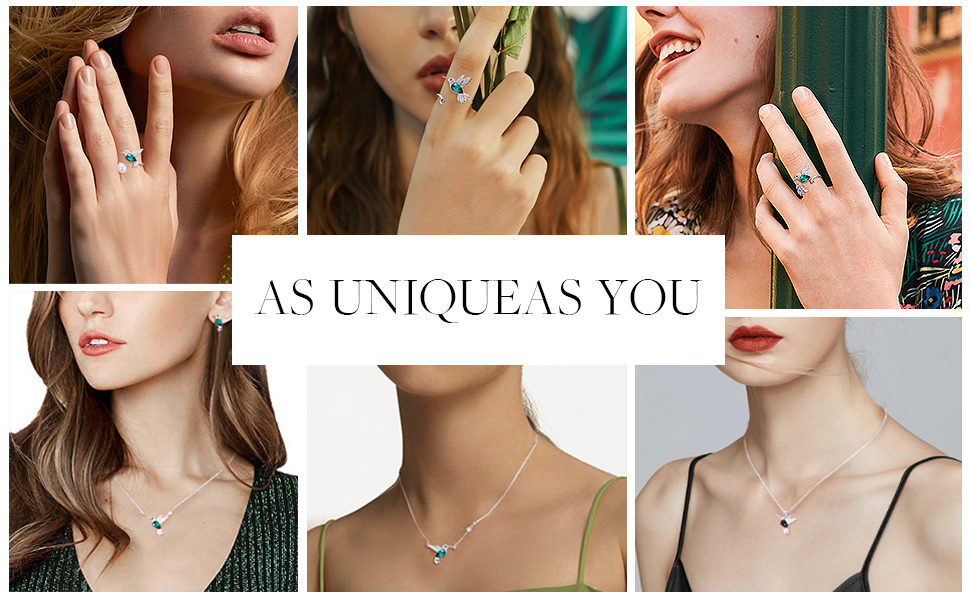 8750bae2 bfbd 4fe7 8e00 de401ad89c93.  CR0,0,970,600 PT0 SX970 V1    - CDE Valentines Day Necklace Gifts for Women Hummingbird Necklaces S925 Sterling Silver Necklaces for Women Embellished with Crystals from Austria Valentines Jewelry Gifts for Women Animal Necklace for Girlfriend Mom