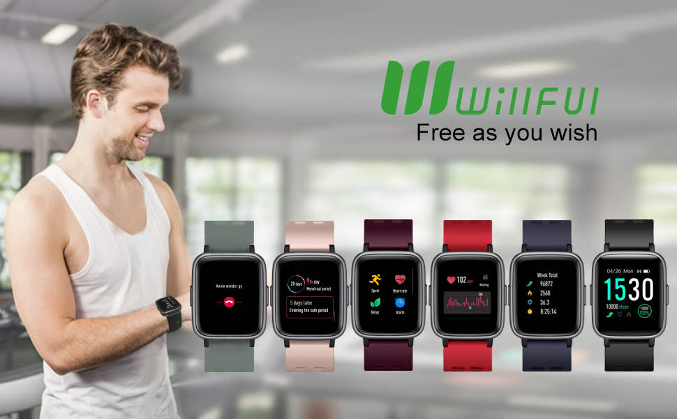 8cd4a51b 0bf2 409b 87f6 97c6a2a52310.  CR0,0,970,600 PT0 SX970 V1    - Willful Smart Watch for Android Phones Compatible iPhone Samsung IP68 Swimming Waterproof Smartwatch Sports Watch Fitness Tracker Heart Rate Monitor Digital Watch Smart Watches for Men Women Black