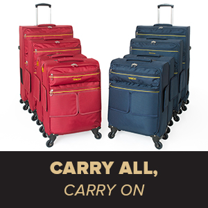 90903e9b a8e7 4fab a9a2 7f11028acd48. CR0,0,300,300 PT0 SX300   - TACH V3 Hard Shell Carry On Luggage 22x14x9 | Carry on Luggage with Spinner Wheels & Patented Built-In Connecting System | One Piece Rolling Suitcase Links 6 Bags At Once (Red)