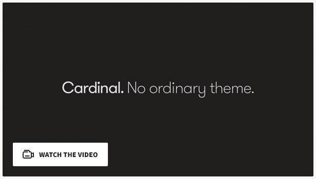 Cardinal video fff - Cardinal - WordPress Theme