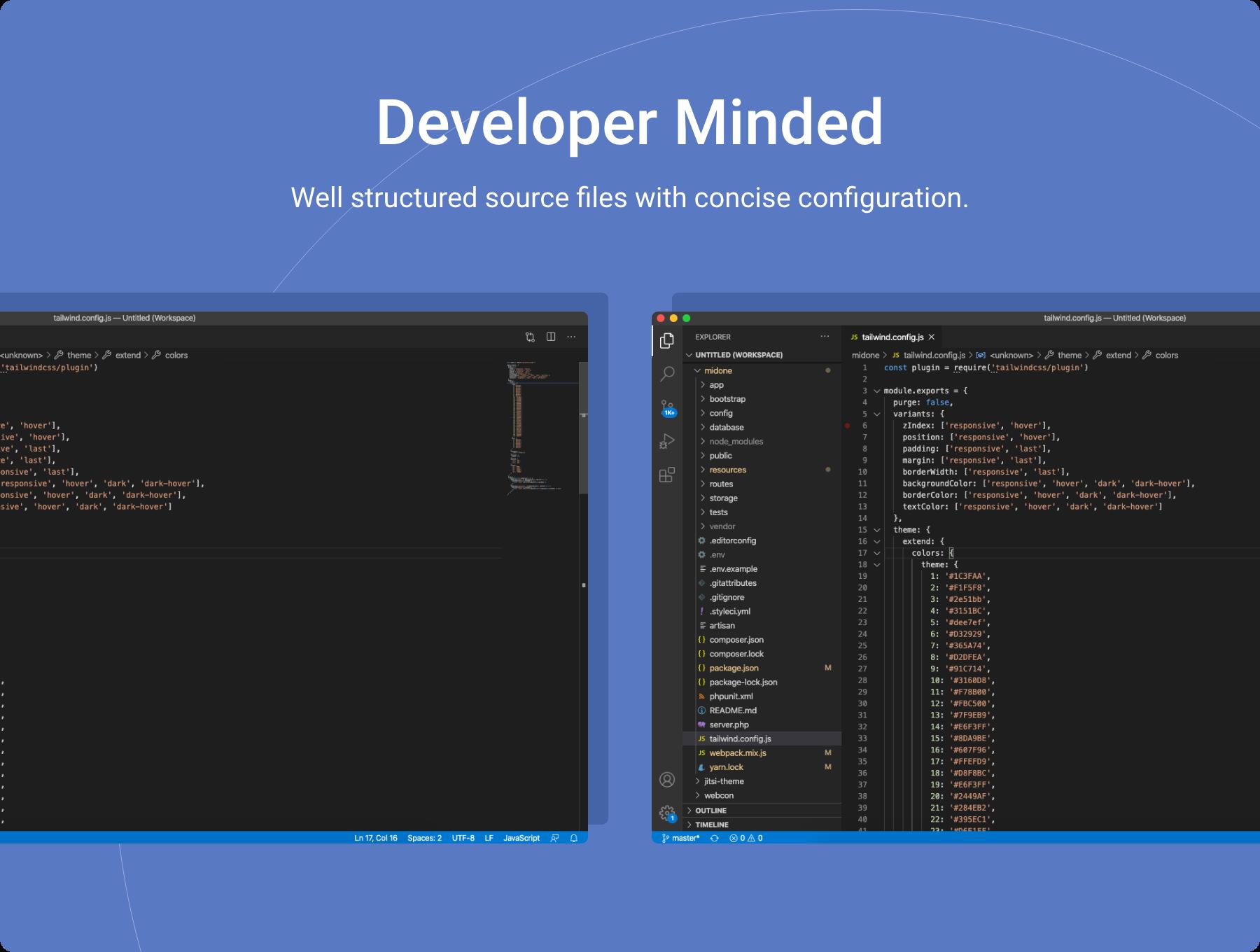 Developer%20Minded - Midone - Laravel 8 Admin Dashboard Template + HTML Version + XD Design File