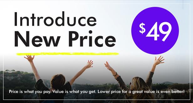 New Price 49 - Labomba - Responsive Multipurpose WordPress Theme