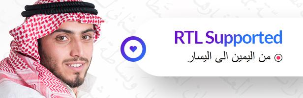 RTL - SEO Digital Marketing Agency WordPress Theme