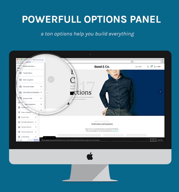 Theme Options - Basel - Multipurpose Ecommerce Shopify Theme