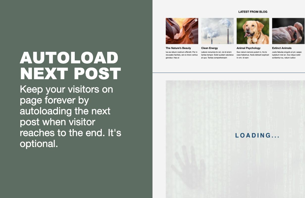 autoload - The Fox - Minimal WordPress Blog Magazine Theme