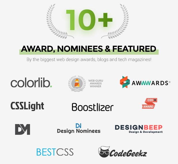 awards - Webster - Responsive Multi-purpose HTML5 Template
