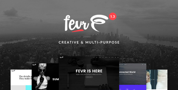 banner.  large preview - Fevr - Creative MultiPurpose Theme