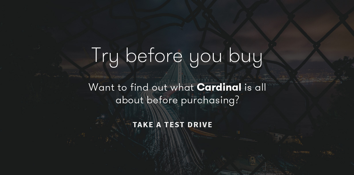 cardinal try before you buy - Cardinal - WordPress Theme