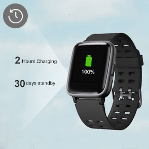 d620daa4 fa8f 4bbb b683 797ba8afa493.  CR0,0,300,300 PT0 SX300 V1    - Willful Smart Watch for Android Phones Compatible iPhone Samsung IP68 Swimming Waterproof Smartwatch Sports Watch Fitness Tracker Heart Rate Monitor Digital Watch Smart Watches for Men Women Black