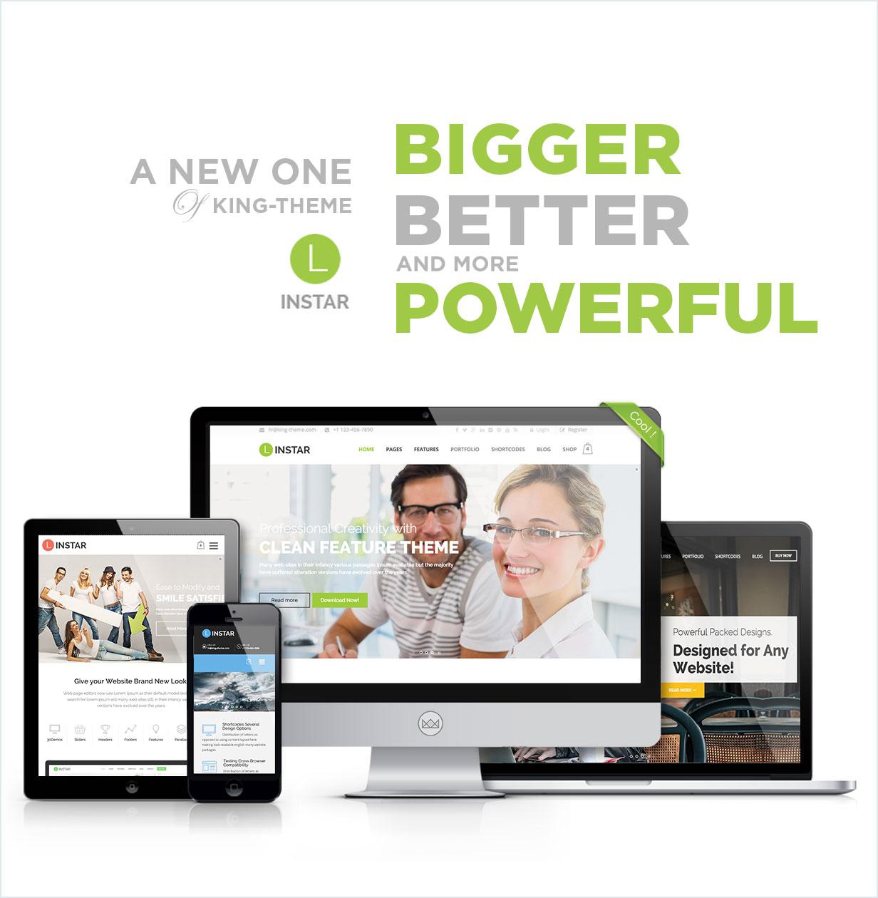 des1 - Linstar - MultiPurpose WordPress Theme