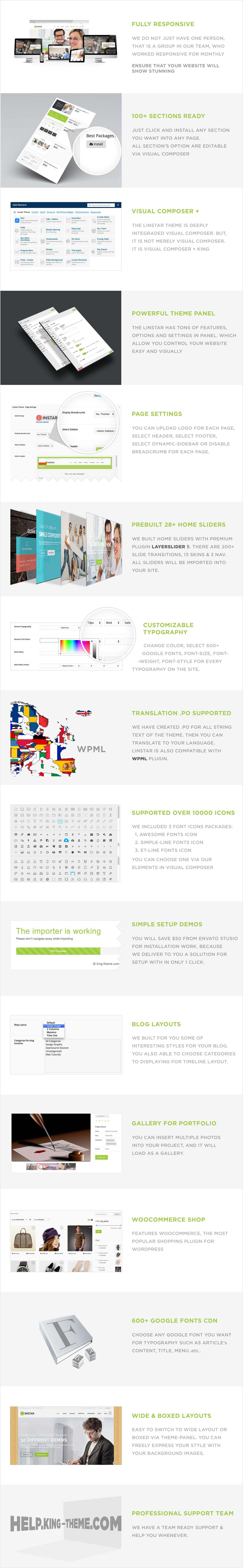 des6 - Linstar - MultiPurpose WordPress Theme