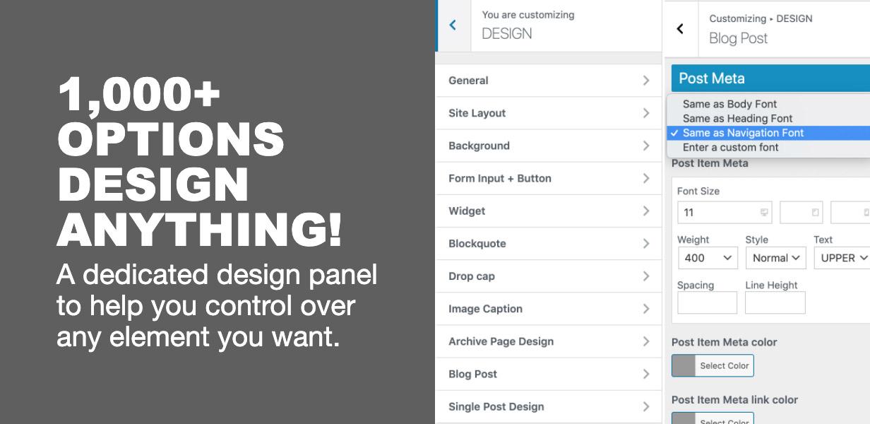 design - The Fox - Minimal WordPress Blog Magazine Theme