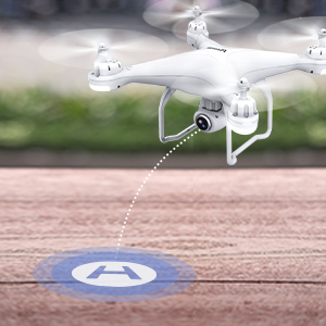 e7eba3f3 d455 4505 8526 b839927f8077. CR0,0,300,300 PT0 SX300   - Potensic T25 GPS Drone, FPV RC Drone with Camera 1080P HD WiFi Live Video, Dual GPS Return Home, Quadcopter with Adjustable Wide-Angle Camera- Follow Me, Altitude Hold, Long Control Range, White