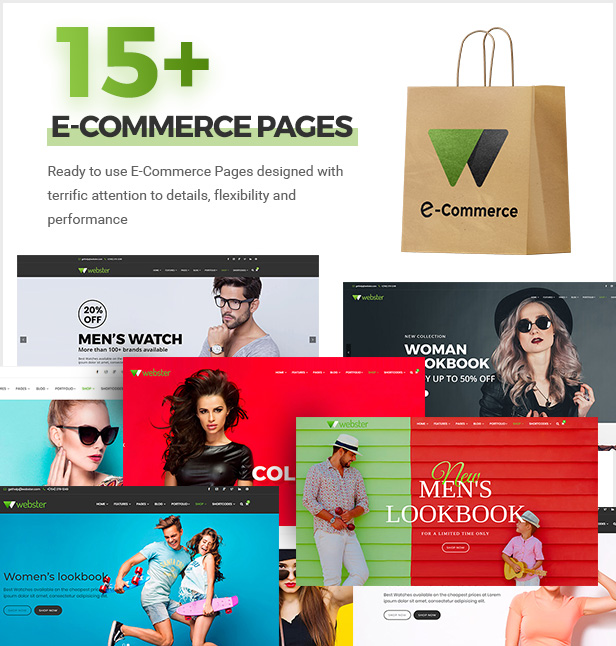 ecommerce - Webster - Responsive Multi-purpose HTML5 Template