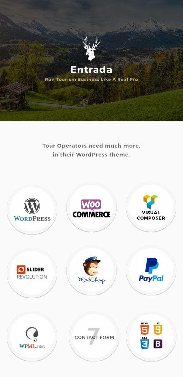 entrada theme preview 1 - Entrada Tour Travel Booking WordPress Theme