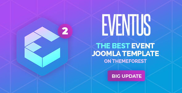 eventus2 preview.  large preview - Eventus - Responsive Event Joomla Template
