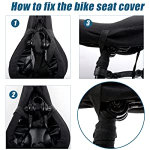 fd73f854 4f16 48fa b770 556f8bf0819b.  CR0,0,1600,1600 PT0 SX300 V1    - Mountain Bike Seat Cushion Cover Extra Soft Gel Bicycle Seat Cover, Soft Silicone Padded Bike Saddle Cover, Anti-Slip Bicycle Seat Cushion Spinning with Waterpoof&Dust Resistant Cover Outdoor Cycling