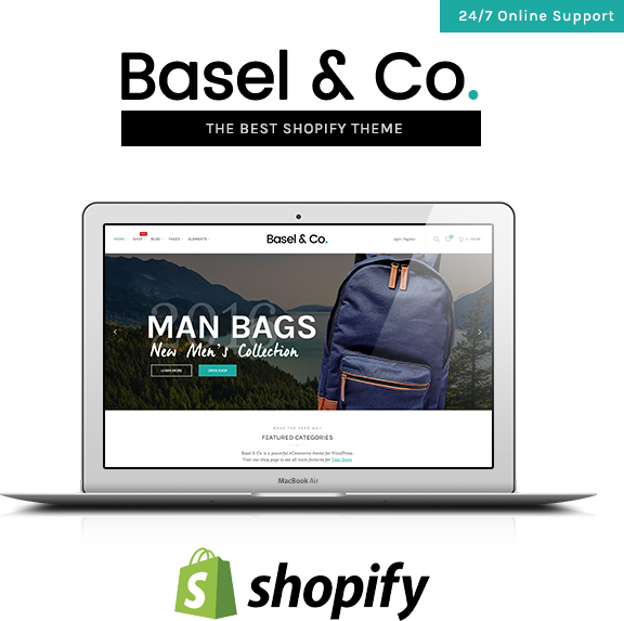 first - Basel - Multipurpose Ecommerce Shopify Theme