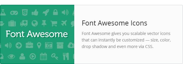 font awesome - Converio - Responsive Multi-Purpose WordPress Theme