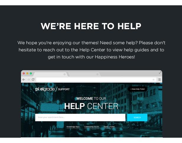 helpdesk - BORDER - A Delightful Photography WordPress Theme