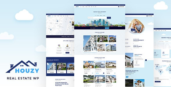 houzy preview wp no price.  large preview - Real Property - RealEstate Theme